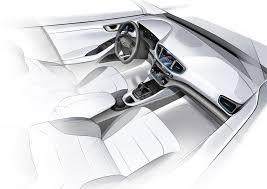 kereta hyundai ioniq hyundai dedah lakaran model terbaharu ioniq arena permotoran