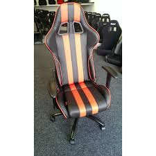 Race Car Office Chair Fk Automotive Racecar 13 Black Red Racing Office Chair Gsm Sport