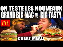 Big Mac Meme - mcdonald s challenge the big tasty vs the big big mac youtube