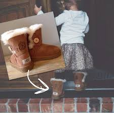 ugg bailey button toddler sale monogrammed ugg australia bailey button boots h behrmann designs