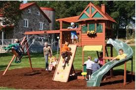 Big Backyard Swing Set Big Backyard Crestwood Lodge Playset Installed Nj Pa De Md Ny