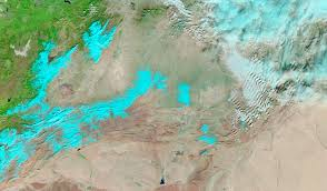 Snow In Sahara Rare Snow In The African Desert Image Of The Day