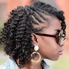 pixie hair do in twist 20 fantastic natural hairstyles that are easy to do on short curly hair
