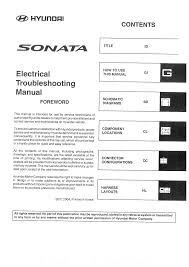 hyundai sonata nf shop manual service manual for repair hyundai