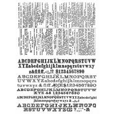 ster s anonymous tim holtz cling mounted rubber st set