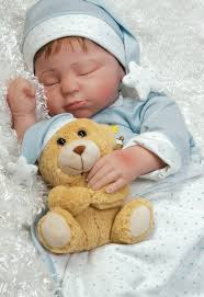 realistic infant boy doll lil in the moon soft vinyl 21