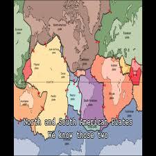Tectonic Plate Map Tectonic Plates I U0027m Yours Youtube