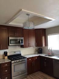 Kitchen Ceiling Light Kitchen Amusing Kitchen Lighting Fluorescent Flush Mount With