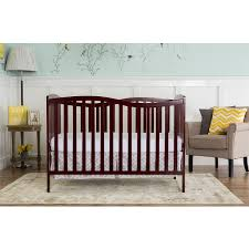 Chelsea Convertible Crib On Me Chelsea Cherry 5 In 1 Convertible Crib Brown Free