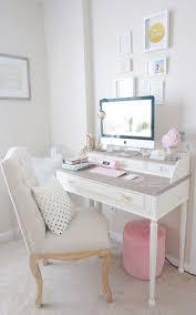 white gold office chair white gold desk chair best feminine office ideas on within
