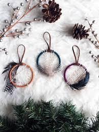 boho ornament set mini catcher ornaments