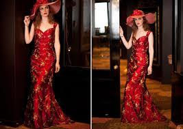 embroidered dupion silk dress by nz designer sophie voon the