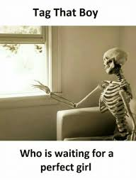 Perfect Girl Meme - tag that boy who is waiting for a perfect girl meme on