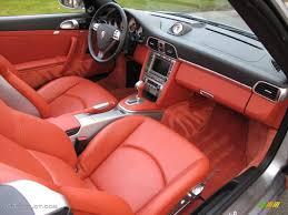 1991 porsche 911 turbo interior black terracotta interior 2008 porsche 911 turbo cabriolet photo