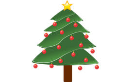 christmas tree ribbon red png image pictures picpng