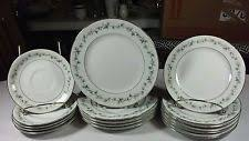 white china pattern 3939 hton china monterey 2423 pattern japan 4 place setting 28