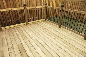 composite landscape timbers wood and composite decking pros and cons