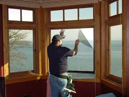 window films and shades help cut heat loss