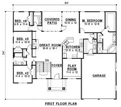 mediterranean style house plan 6 beds 4 00 baths 3342 sq ft plan