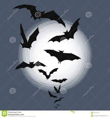halloween background image halloween background flying bats in full moon royalty free stock