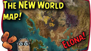 New World Map by Guild Wars 2 Path Of Fire The New Tyrian World Map The