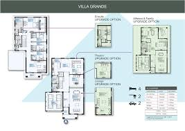 house and land package villa grande malvern facade by simonds