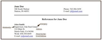 doc 652770 resume reference list template u2013 references sample