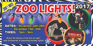holiday lights safari 2017 november 17 zoo lights