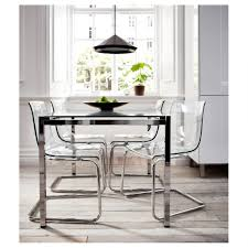 home design nice transparent dining chair kartell louis ghost by