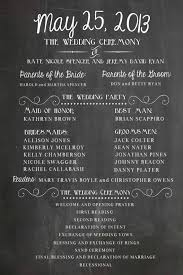 wedding program chalkboard chalkboard wedding poster our story program digital or