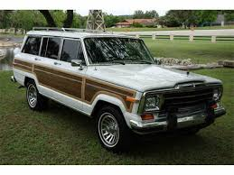 1989 jeep wagoneer for sale classiccars com cc 1001396