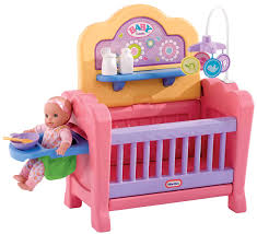 little tikes baby born 4 in 1 nursery kids can engage in dramatic
