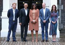 the obamas meet with the royal family during uk visit