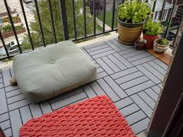 Patio Tile Flooring by 35 Best Balcony Ideas Images On Pinterest Balcony Ideas Gardens