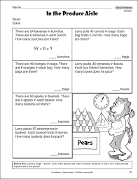 collections of math problems for 3rd graders bridal catalog