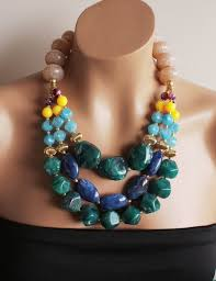 beaded statement necklace images 68 best coral turquoise jewellery images coral jpg