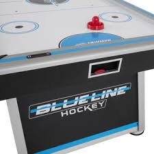 84 air hockey table triumph sports usa 84 blue line air powered hockey table inrail