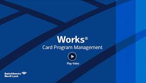 Bank Of America Design Cards Works Card Program Management Bank Of America Merrill Lynch
