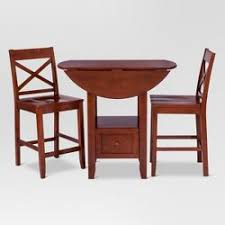 3 piece table and chair set dining room sets target
