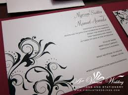 and black wedding invitations and black wedding invitation a vibrant wedding