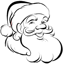 wolf face coloring page santa face coloring pages getcoloringpages com