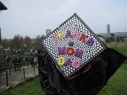 cap and gown decorations want to stand out in cap and gown decorate the mortarboard