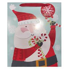 gift bags christmas shop creative presence christmas paper gift bag at lowes