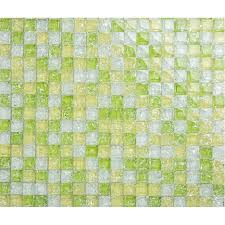 green glass tiles for kitchen backsplashes green crackle glass tiles tile wall backsplashes bathroom