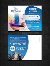 Home Design Network Tv Modern Professional Postcard Design For Infinity Network Services