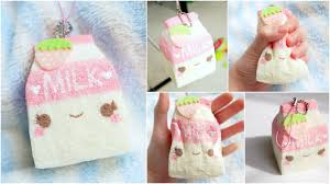 diy milk carton squishy homemade squishy tutorial projects to