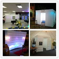 Inflatable Photo Booth Aliexpress Com Buy Free Shipping 7bulbs 2pcs 9 8ft Inflatable