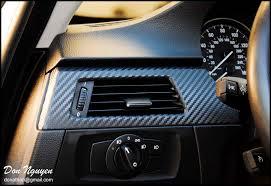 Vinyl Car Interior Bmw E92 328i Coupe Matte Carbon Fiber Interior Vinyl Wrap