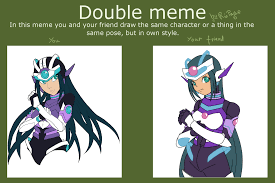 Double Picture Meme Generator - art by zeromidnight my buddy drachen ritter called me to do a
