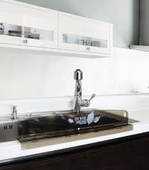 KITCHEN SINK 水はね防止 韓国産 WATER SPLASH GUARD Made In - Kitchen sink splash guard